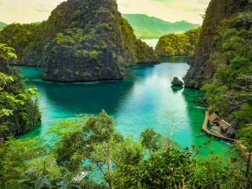 Corón, isla de Palawán