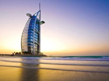 Dubái. Burj Al Arab.
