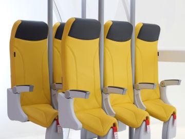 Los nuevos asientos verticales