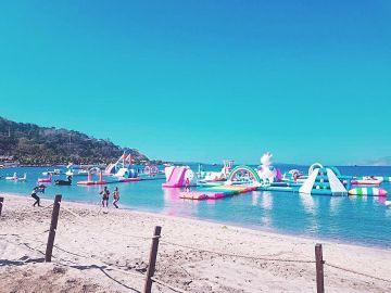Una playa diferente a las demás