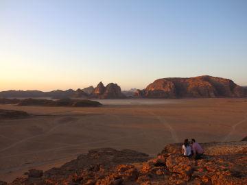 Wadi Rum, el valle de la Luna
