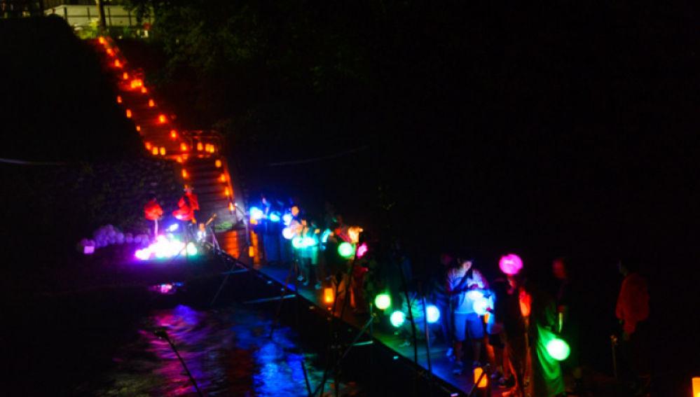 Río Yunishigawa yamahotaru, luciérnagas de montaña