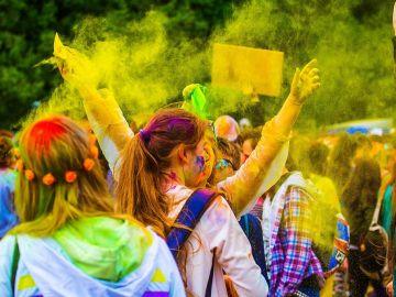 Holi. Fiesta de los colores