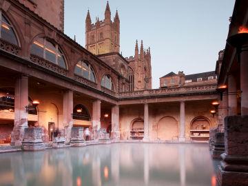 Baños Romanos de Bath hoy. Inglaterra